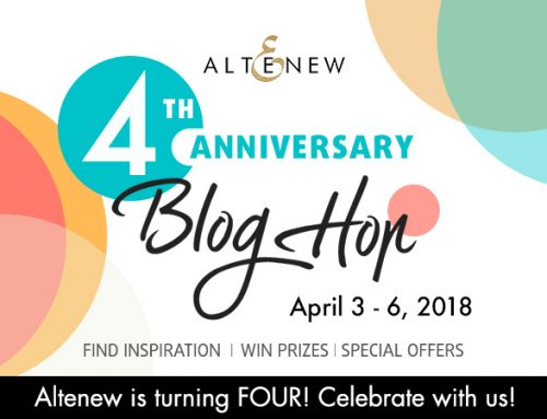 Altenew's 4th Anniversary Blog Hop Day 4 & Giveaway!
