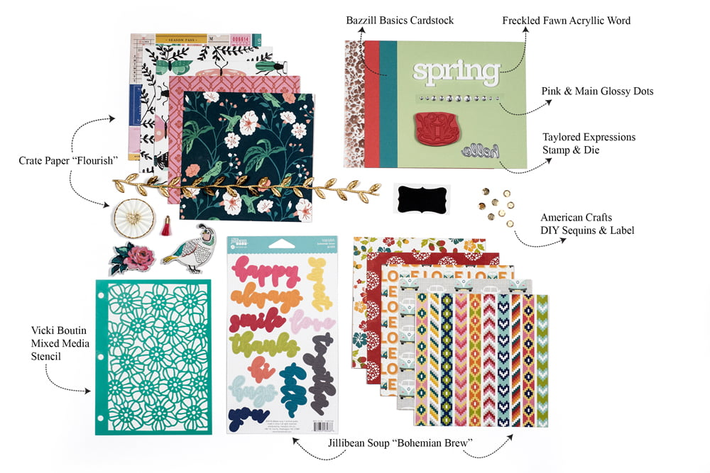 SCT Sampler April 2018 Products