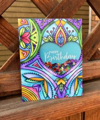 Birthday Card by Susan R. Opel for Scrapbook & Cards Today