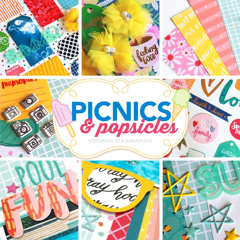 Picnics & Popsicles Scrapbook Kit