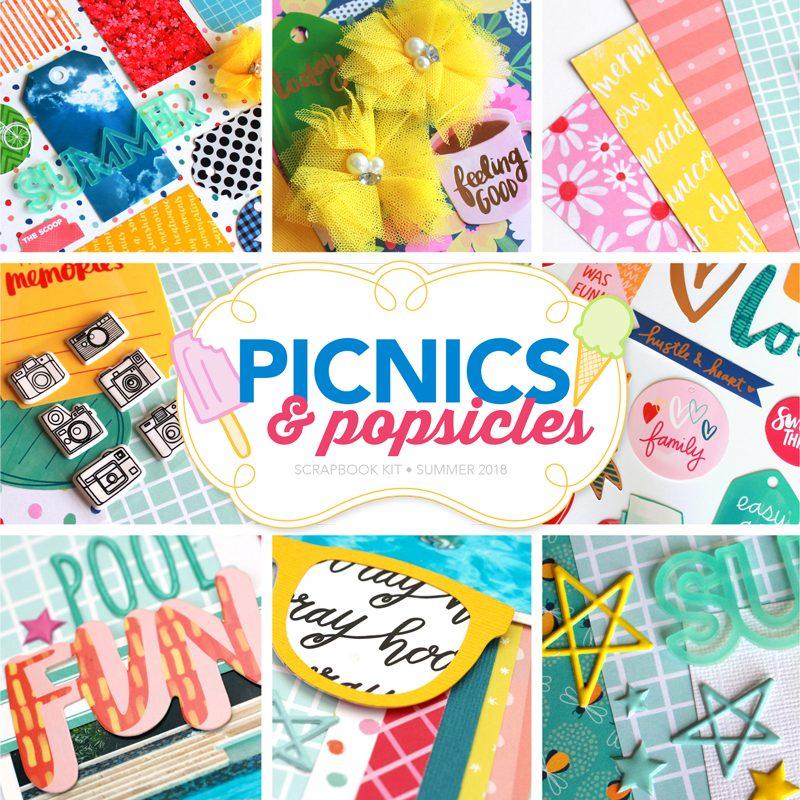 Picnics & Popsicles Scrapbook Kit