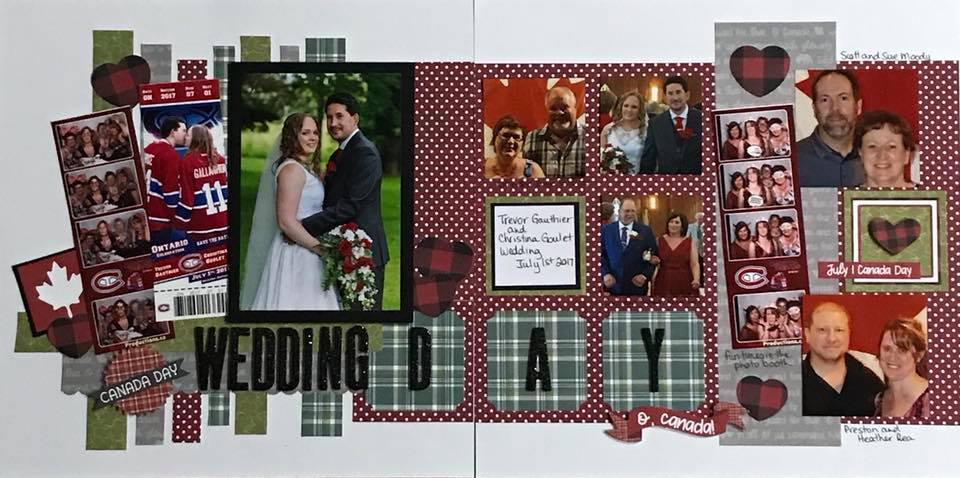 Layout by Sue McCready Moody