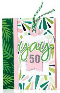 SCT Summer 2018 - Yay 50 card by Susan R. Opel
