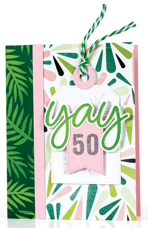 SCT Summer 2018 - Yay 50 card by Susan R. Opel