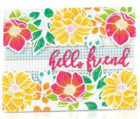 SCT Summer 2018 - Hello Friend card by Leigh Houston