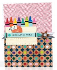 SCT Summer 2018 - You Color My World card by Sheri Reguly