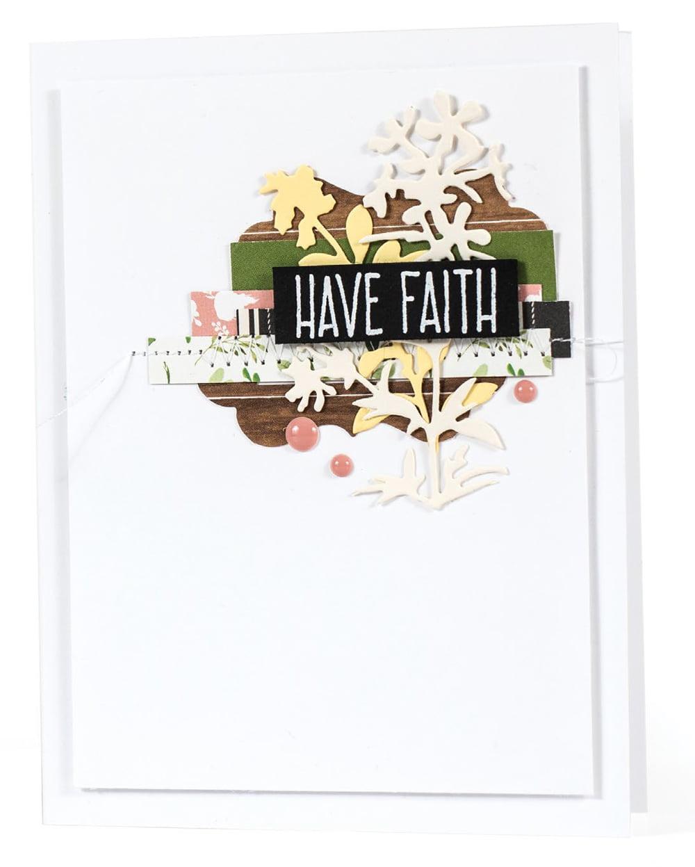 SCT Summer 2018 - Have Faith card by Miriam Prantner