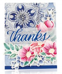 SCT Summer 2018 - Floral Thanks card by Emily Midgett