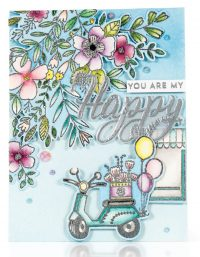 SCT Summer 2018 - You Are My Happy card by Emily Midgett