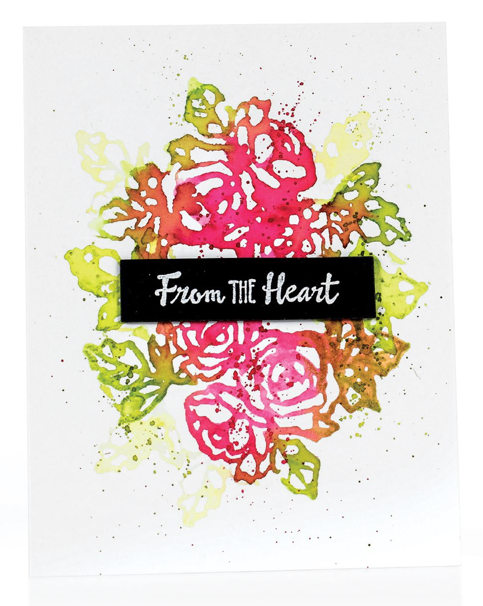 SCT Summer 2018 - From The Heart card by Kay Miller