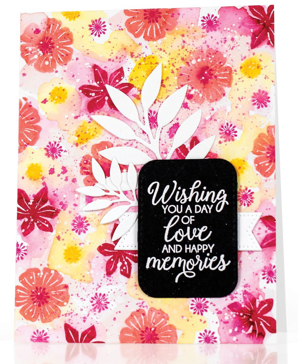SCT Summer 2018 - Happy Memories card by Kay Miller