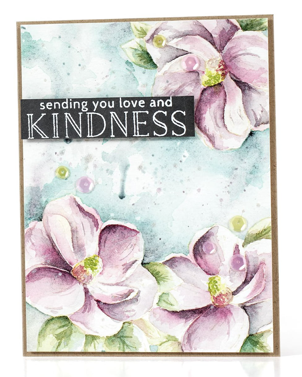 SCT Summer 2018 - Love And Kindness card by Debby Hughes