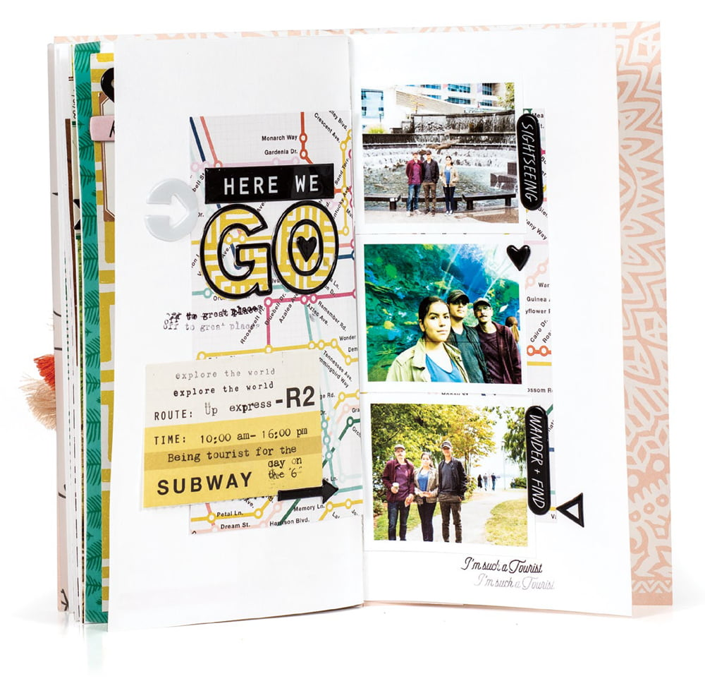 SCT Summer 2018 - Here We Go Traveler's Notebook by Nathalie Desousa