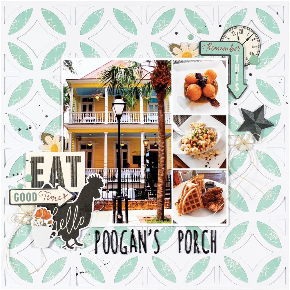 SCT Summer 2018 - Poogan's Porch by Marcia Dehn Nix