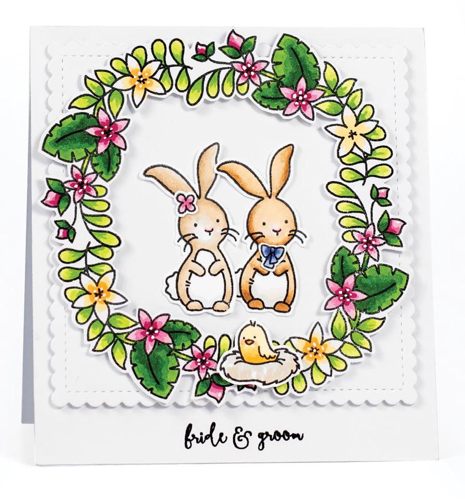 SCT Summer 2018 - Bride & Groom card by Karin Akesdotter