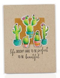 SCT Summer 2018 - Life Doesn't Have To Be Perfect card by Stephen Kropf