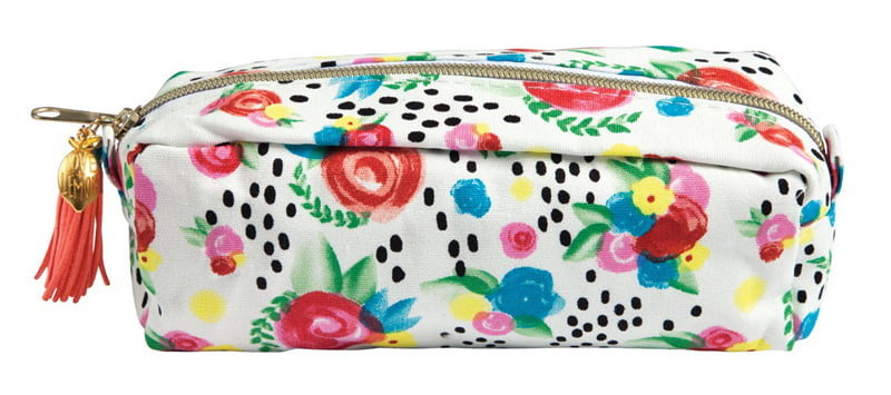 SCT Summer 2018 - Floral Pencil Pouch by Love & Lemon Craft