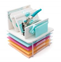 SCT Summer 2018 - Stackable Paper Trays And Punch Board Storage by We R Memory Keepers