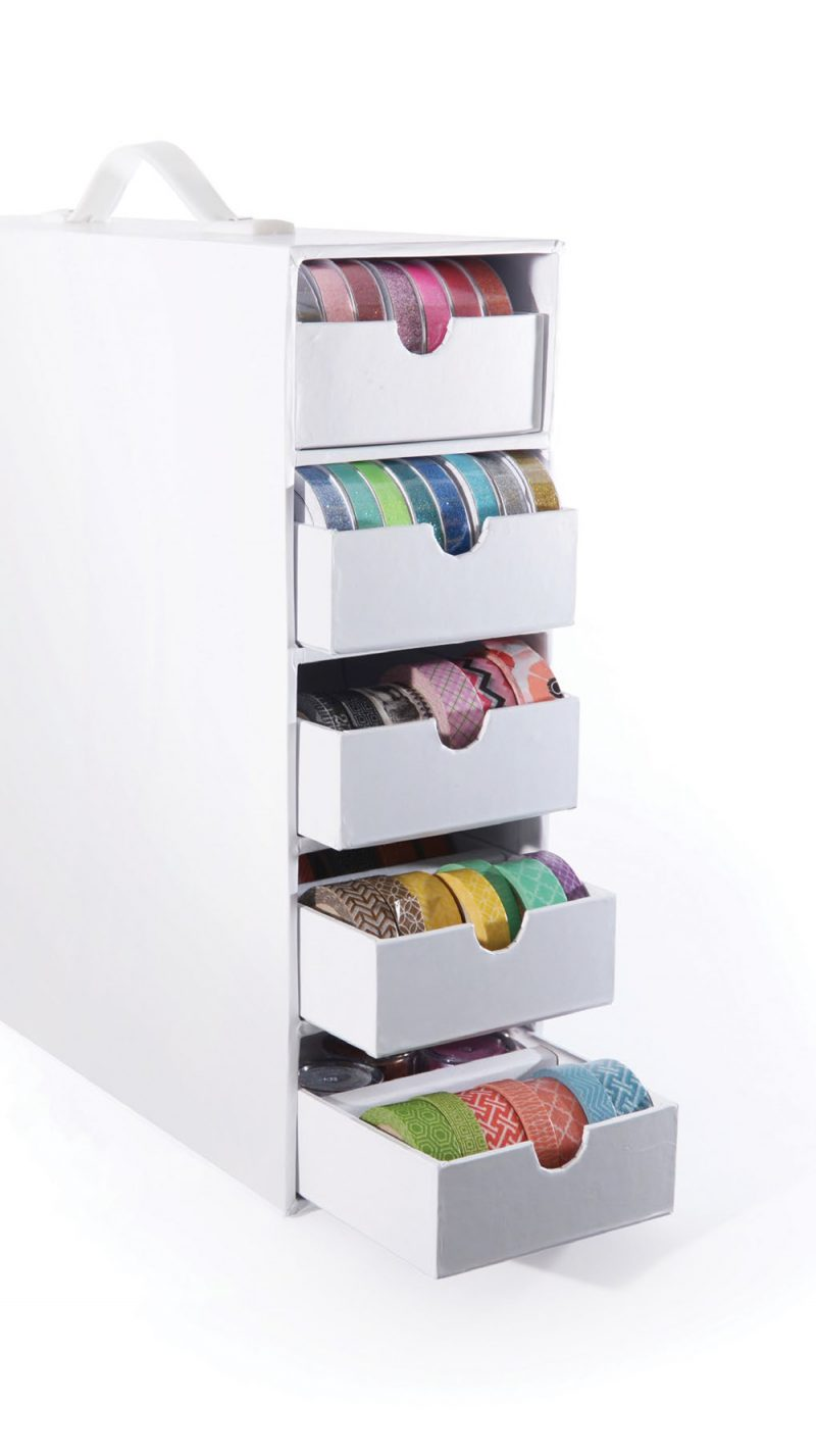SCT Summer 2018 - Stash And Store Five Drawer Supply Case by Totally Tiffany