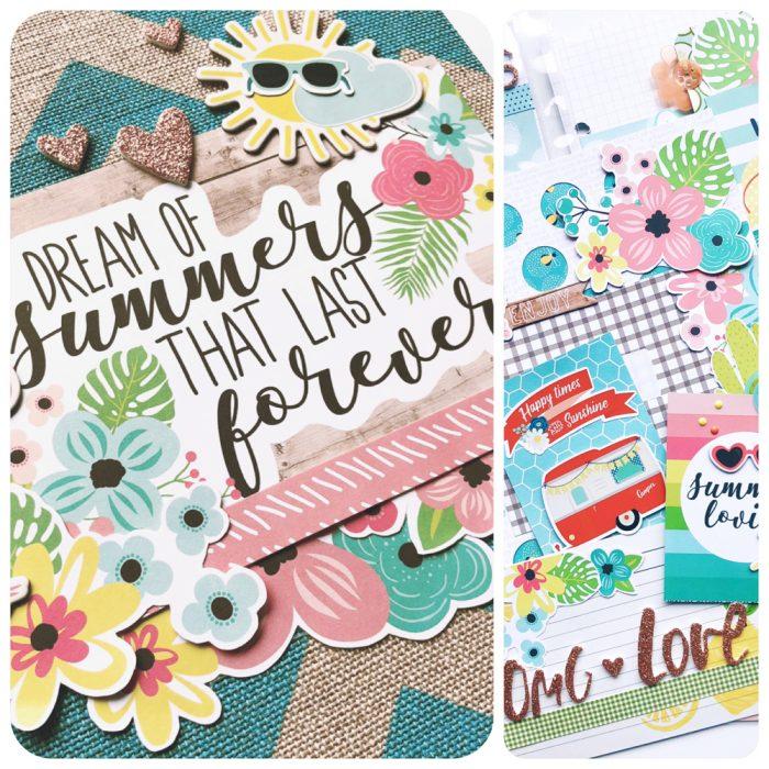 Summer Days Album Kit Cover