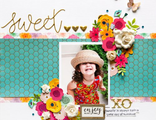 Fussy cutting to create embellishments with Stacy Cohen!