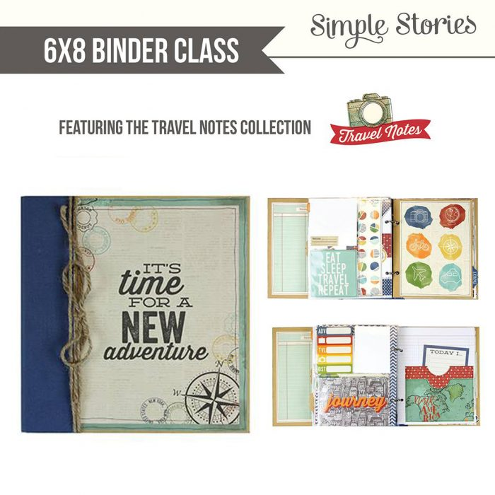 Simple Stories Travel Album Kit