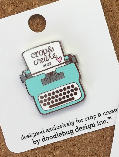 2017 Crop & Create Collectible Pin