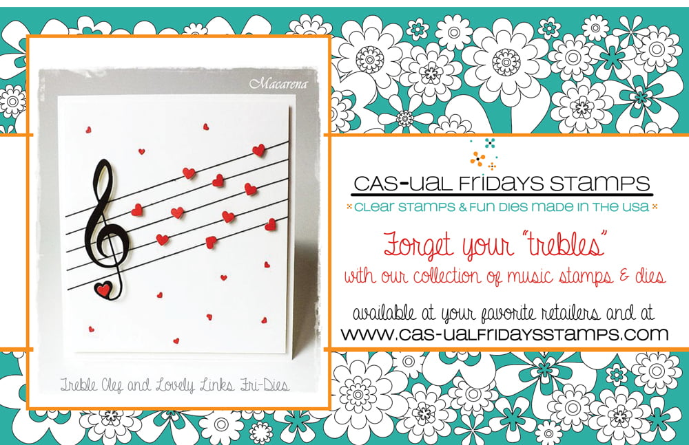 Cas-ual Fridays Stamps Ad - Scrapbook & Cards Today Summer 2018 Issue