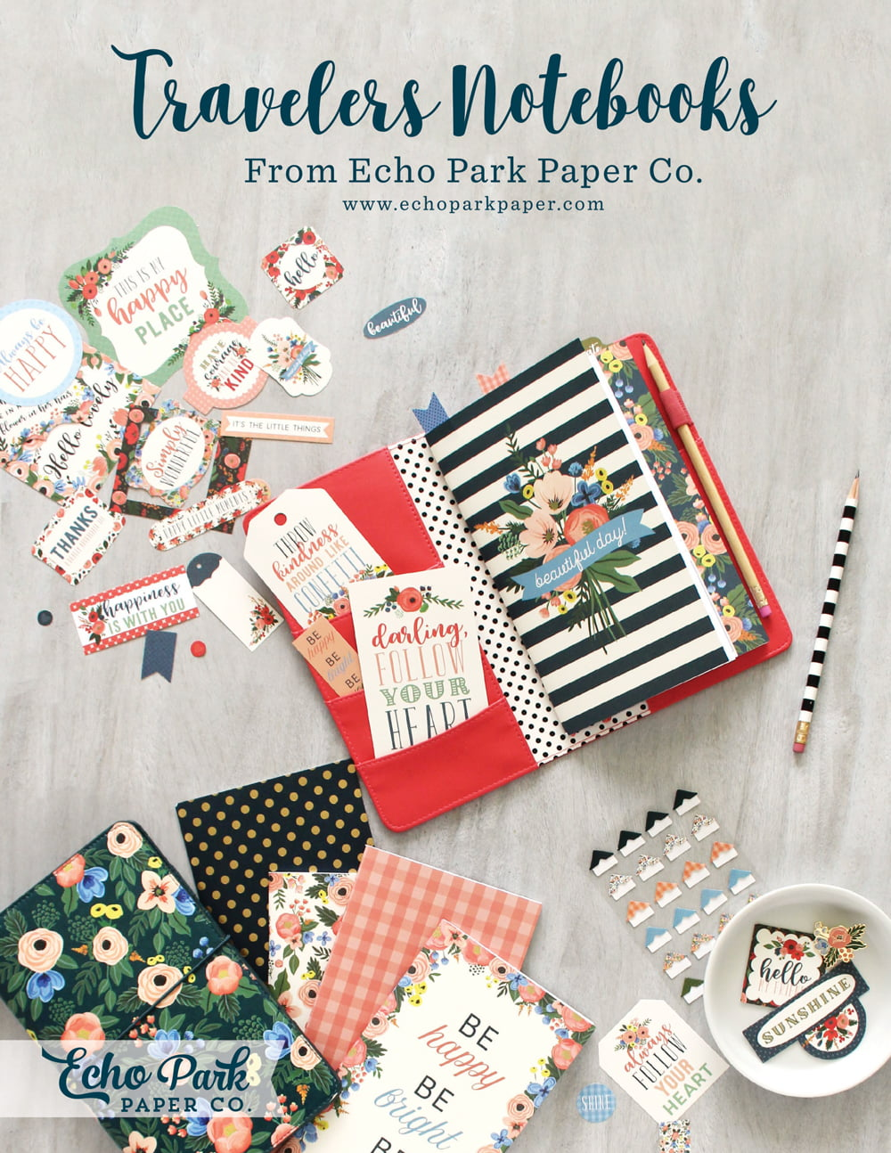 Echo Park Paper Ad - Scrapbook & Cards Today Summer 2018 Issue