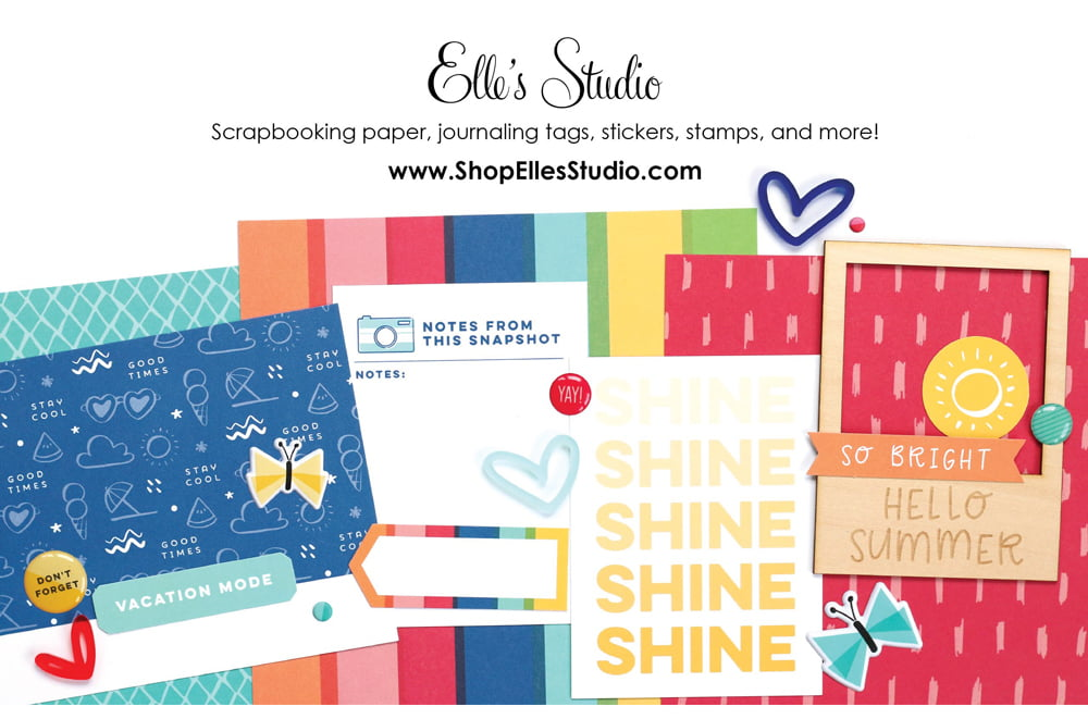 Elle's Studio Ad - Scrapbook & Cards Today Summer 2018 Issue