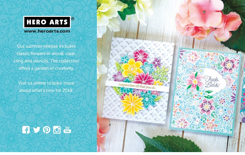 Hero Arts Ad - Scrapbook & Cards Today Summer 2018 Issue