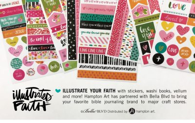 Illustrated Faith Ad - Scrapbook & Cards Today Summer 2018 Issue