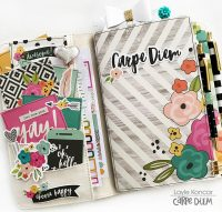Traveler's Notebook tips by Layle Koncar for Scrapbook & Cards Today magazine