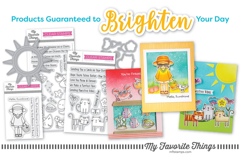 My Favorite Things Ad - Scrapbook & Cards Today Summer 2018 Issue