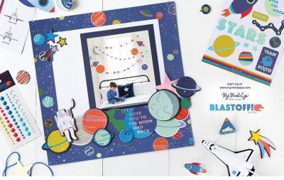 My Mind's Eye Ad - Scrapbook & Cards Today Summer 2018 Issue