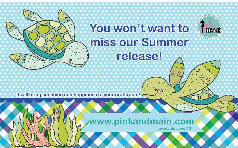 Pink and Main Ad - Scrapbook & Cards Today Summer 2018 Issue
