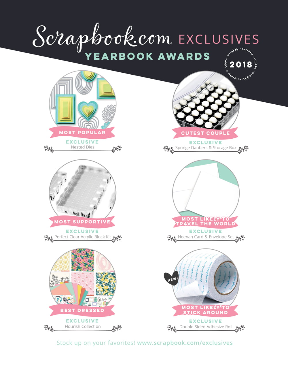 Scrapbook.com Ad - Scrapbook & Cards Today Summer 2018 Issue