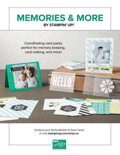 Stampin' Up Ad - Scrapbook & Cards Today Summer 2018 Issue