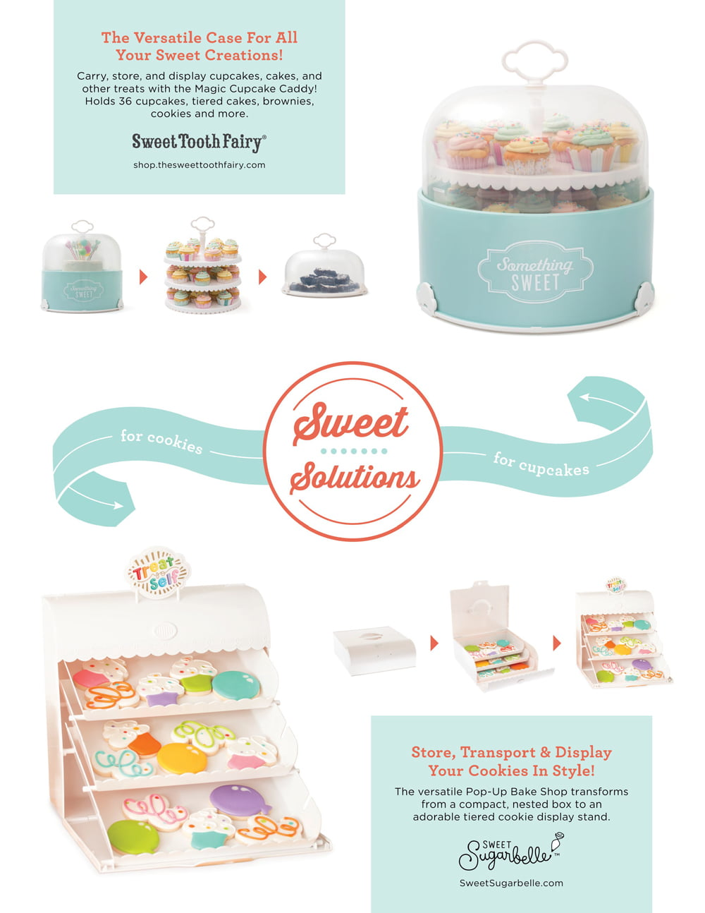 Sweet Sugarbelle & Sweet Tooth Fairy Ad - Scrapbook & Cards Today Summer 2018 Issue