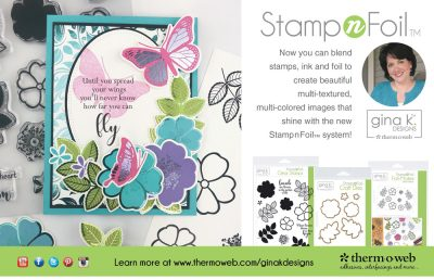 Therm-o-web Ad - Scrapbook & Cards Today Summer 2018 Issue