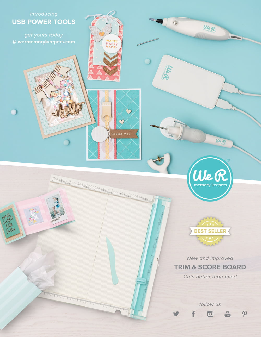 We R Memory Keepers Ad - Scrapbook & Cards Today Summer 2018 Issue