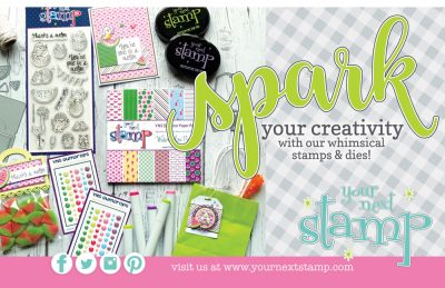 Your Next Stamp Ad - Scrapbook & Cards Today Summer 2018 Issue