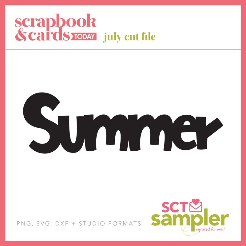 SCT Sampler July 2018 Cut File