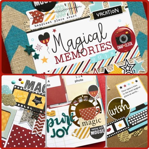 Disney Magic Album Kit