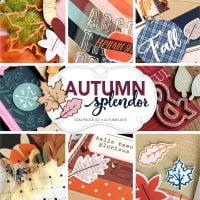 SCT Delivered Kit - Autumn Splendor Scrapbook Kit