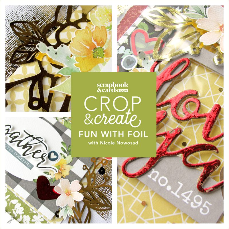 Fun with Foil with Nicole Nowosad