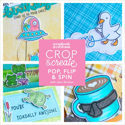 Pop, Spin and Flip with Lawn Fawn