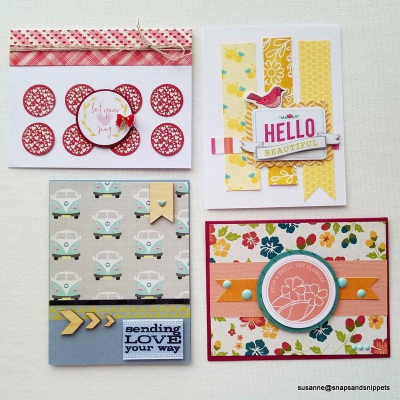 Cards by Susanne Brauer