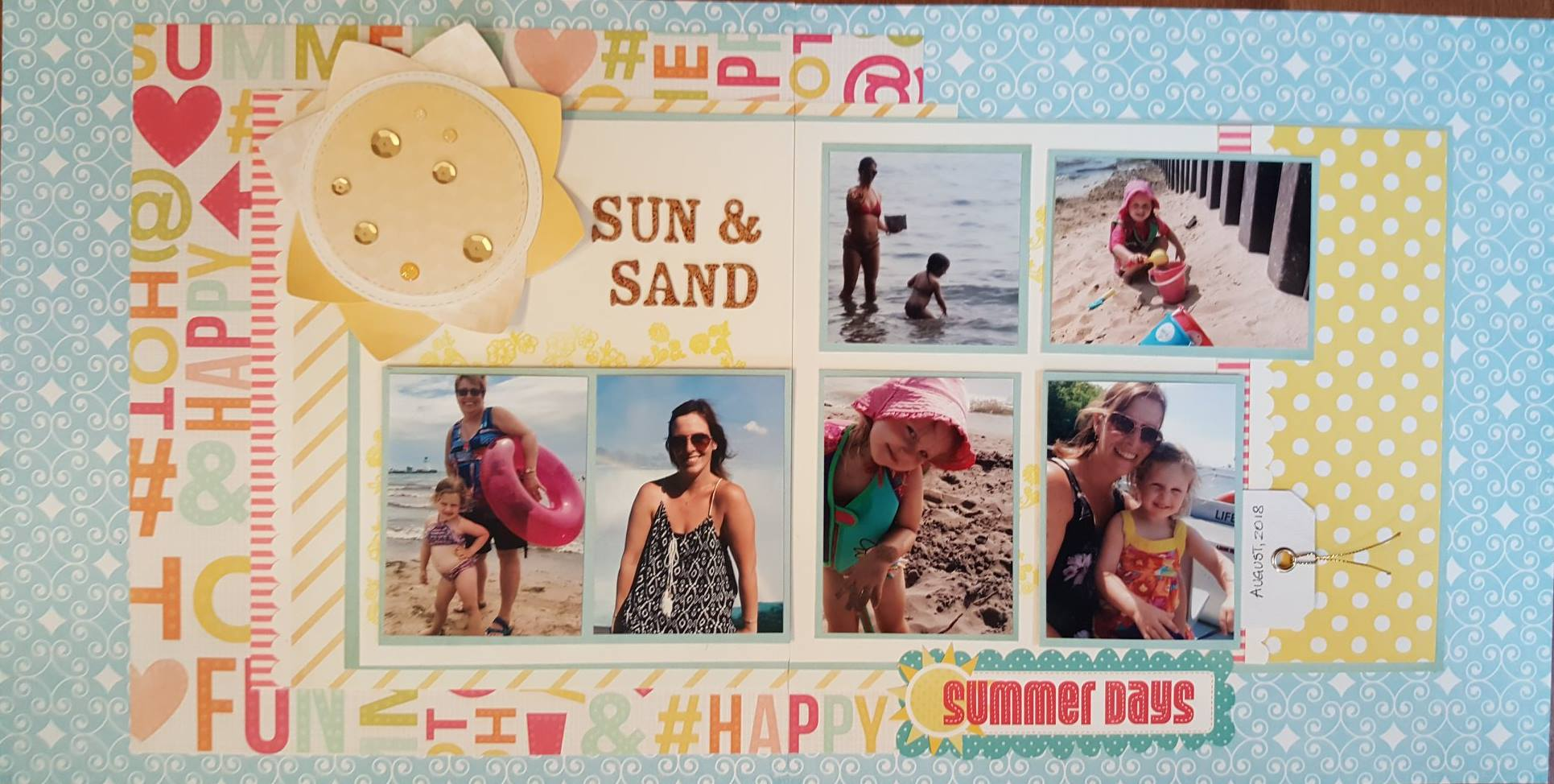 Layout by Susan Jeary