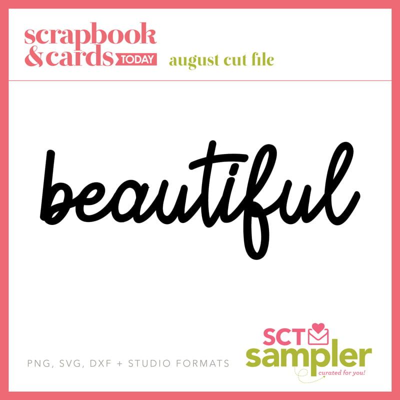 SCT Sampler August 2018 Cut File